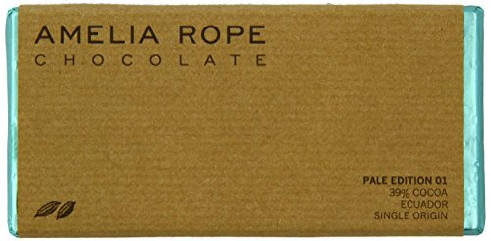 Amelia Rope Chocolate Pale Edition 01 39 Percent Chocolate Bar 75 g
