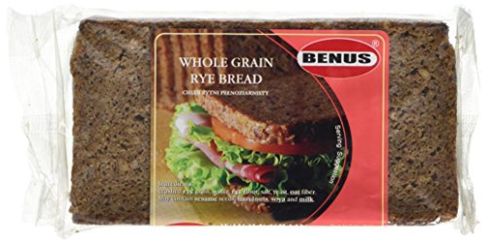Benus Wholegrain Rye Bread (Red) 500g