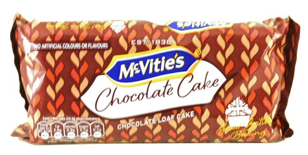 McVities Chocolate Cake 186.4g