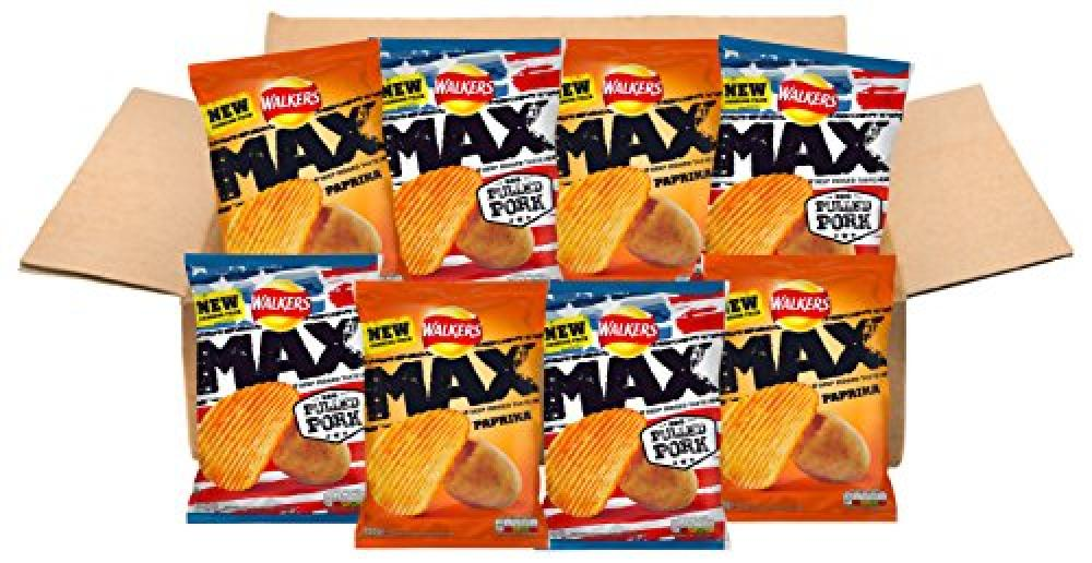 Walkers Max Variety Box 8x150g