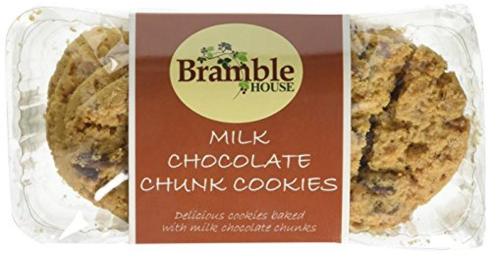 Bramble Foods Milk Chocolate Chunk Cookies 200g