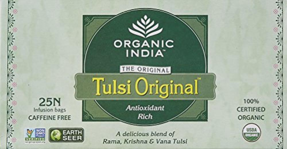 Organic India Tulsi Organic Original 25 Teabags