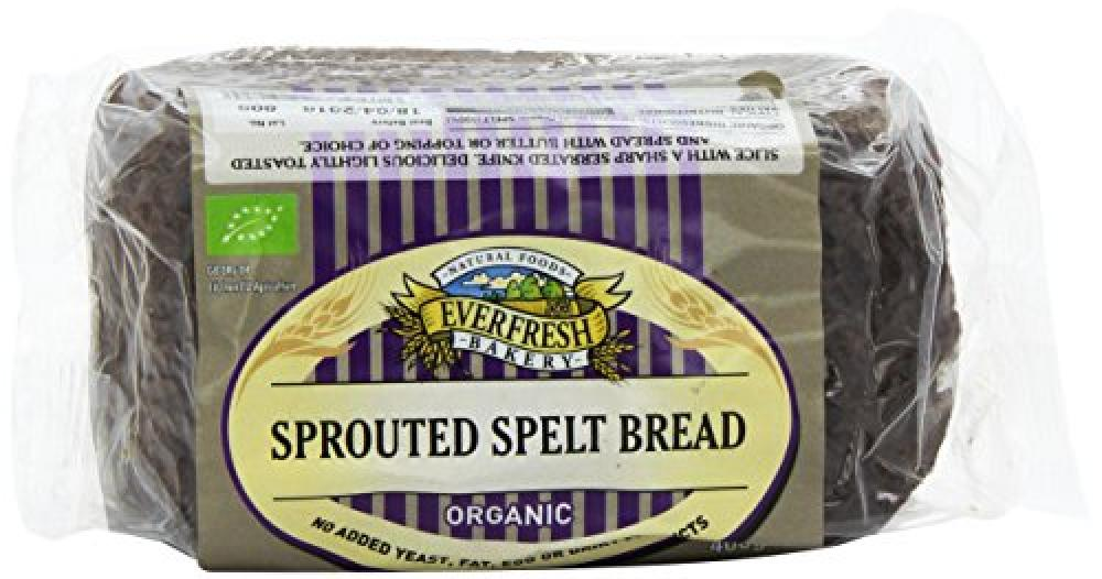 Everfresh Organic Sprouted Spelt Bread 400 g