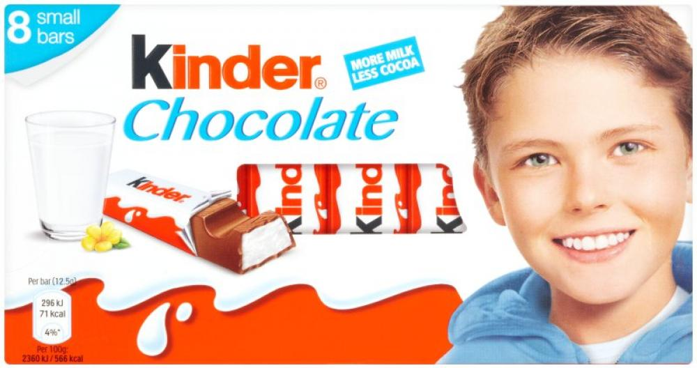 Kinder Chocolate 100g