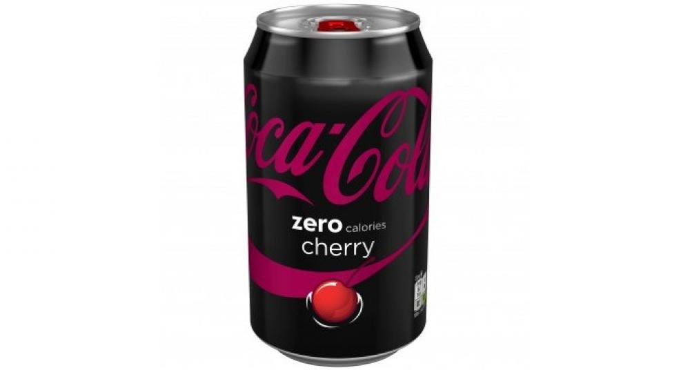 Coca Cola Zero Cherry 330ml