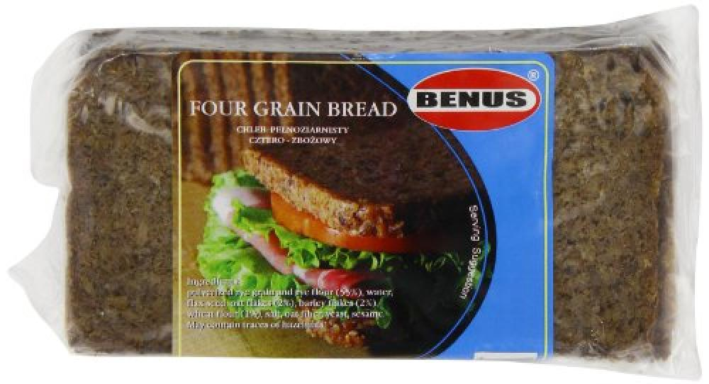 Benus Grain Bread with 4 Grains 500 g