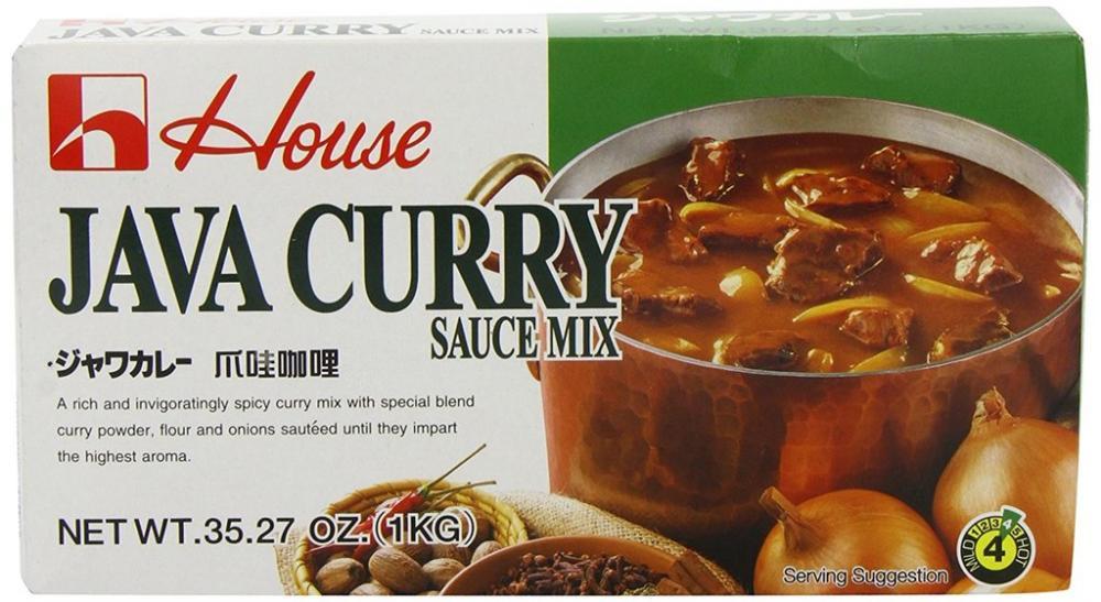 House Food Java Vegetable Curry 1Kg