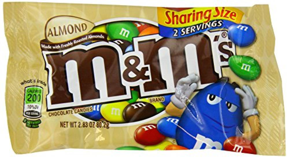 M and Ms Almond 80 g
