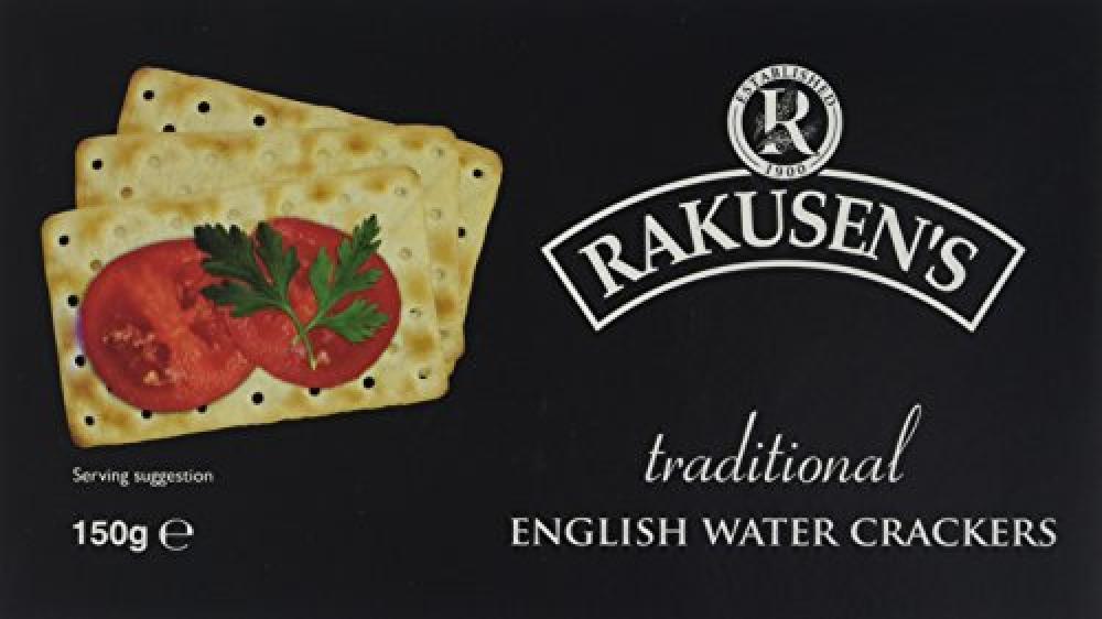 Rakusens Traditional English Water Crackers 150 g