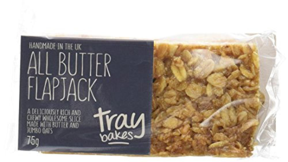 Traybakes All Butter Flapjack 75g