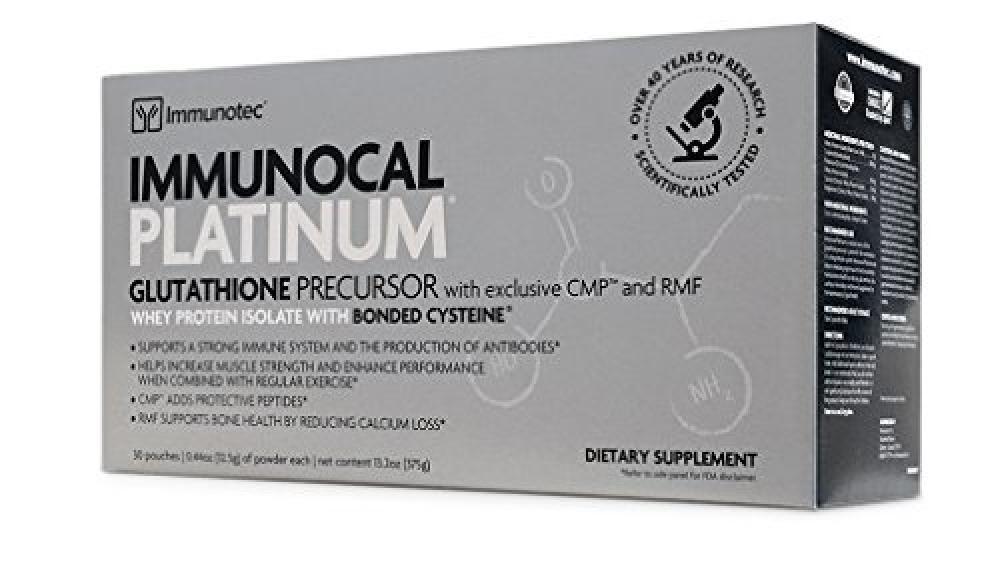 CASE PRICE  Immunotec Immunocal Platinum 12.5g x 30