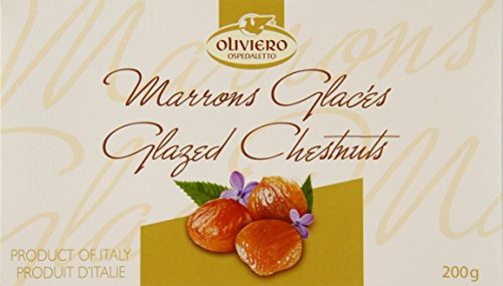FURTHER REDUCTION  Oliviero Ospedaletto Glazed Chestnuts 200g