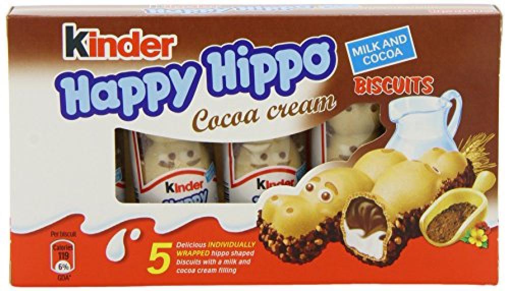 Kinder Happy Hippo Cocoa Cream 5 Pack