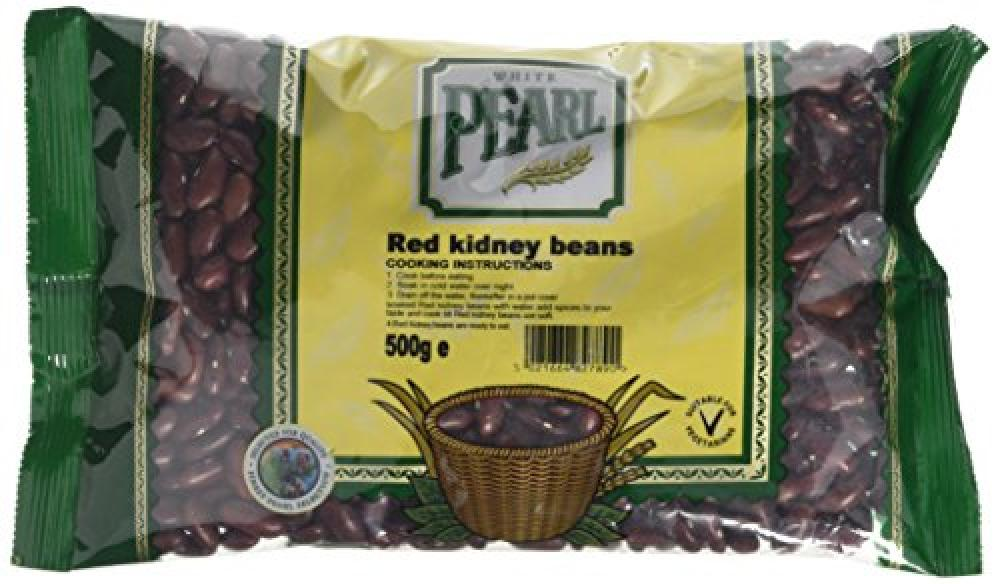 White Pearl Red Kidney Beans 500g