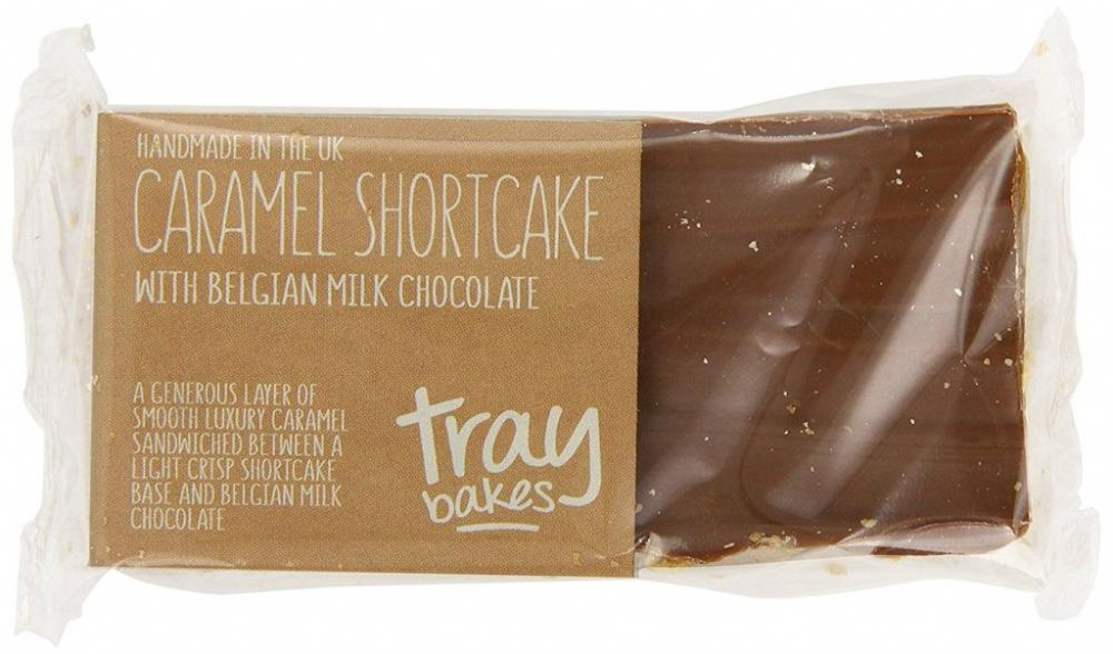 Traybakes Caramel Shortcake with Belgian Milk Chocolate