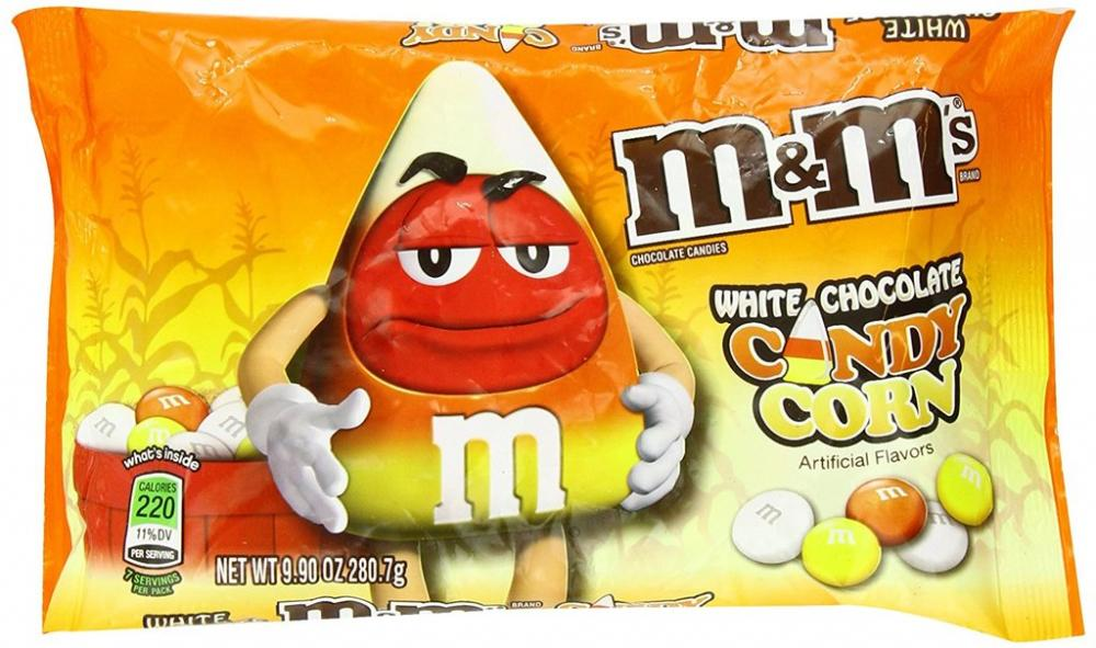 M and Ms White Chocolate Candy Corn 280g