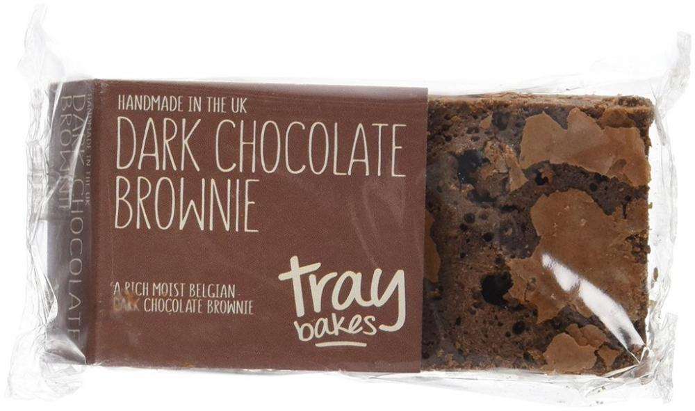Traybakes Dark Chocolate Brownies
