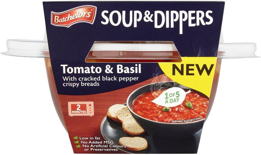 Batchelors Soup and Dippers Tomato and Basil 288g