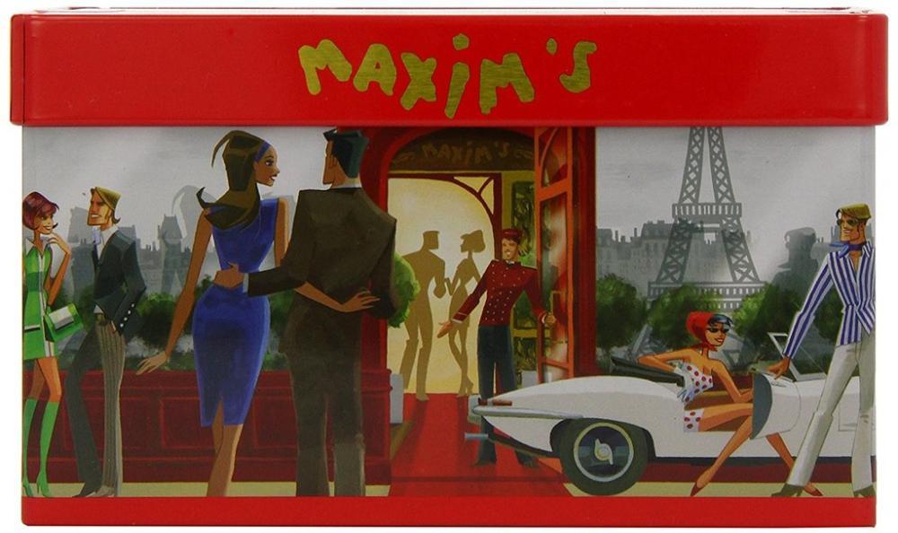 Maxims de Paris Chocolate Mini Rochers Restaurant Tin 36 pieces - 180 g