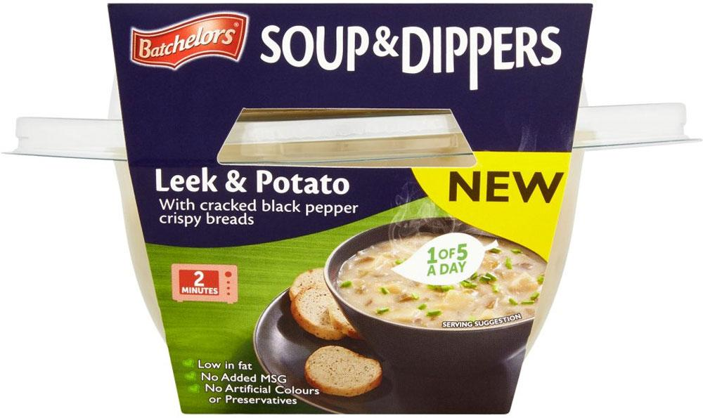 Batchelors Soup and Dippers Leek and Potato 288g