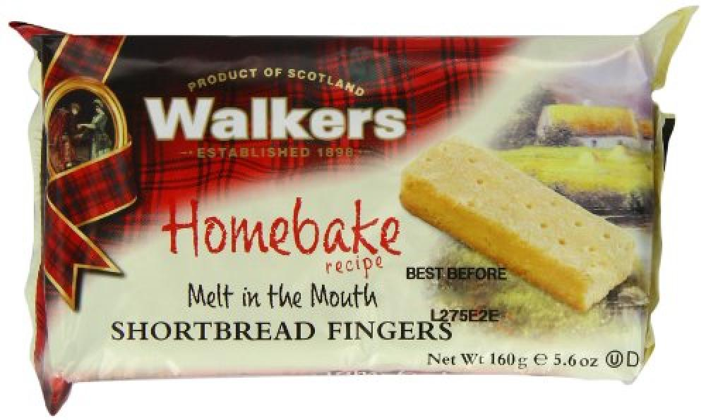 Walkers Shortbread Homebake Shortbread Fingers 160g