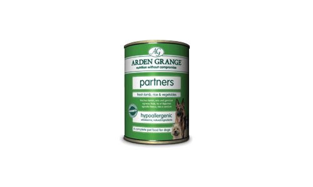 Arden Grange Dog Food Partners Fresh Lamb Rice and Vegetables 6 x 395 g