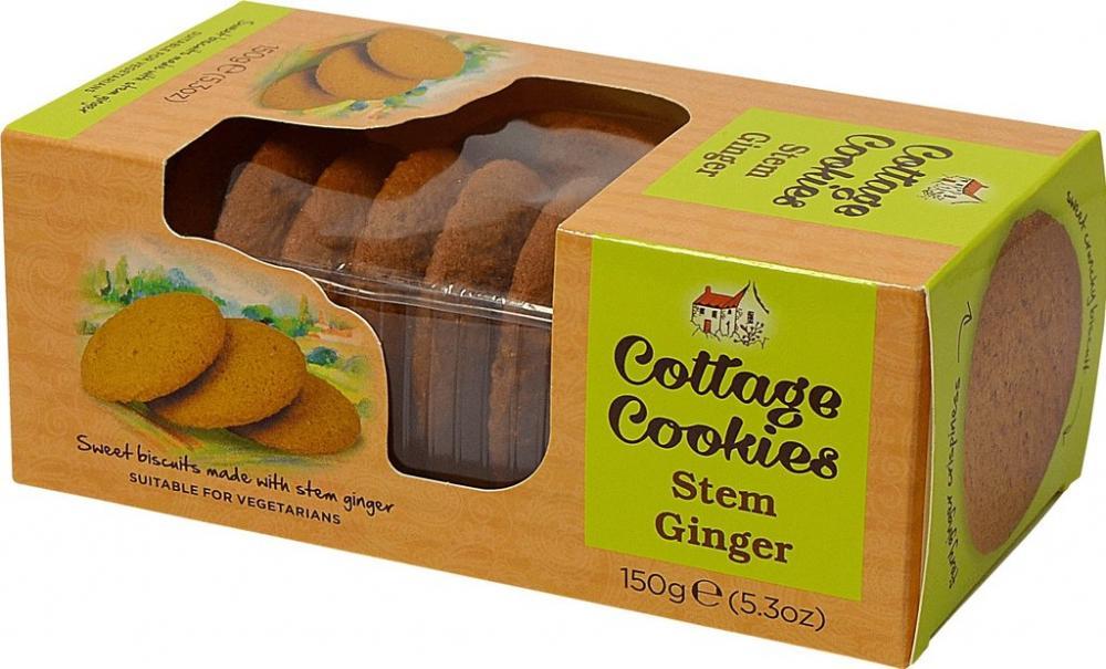 Cottage Cookies Stem Ginger 150g