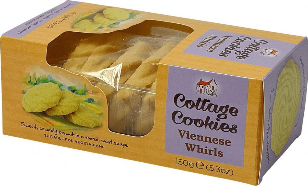 Cottage Cookies Viennese Whirls 150g