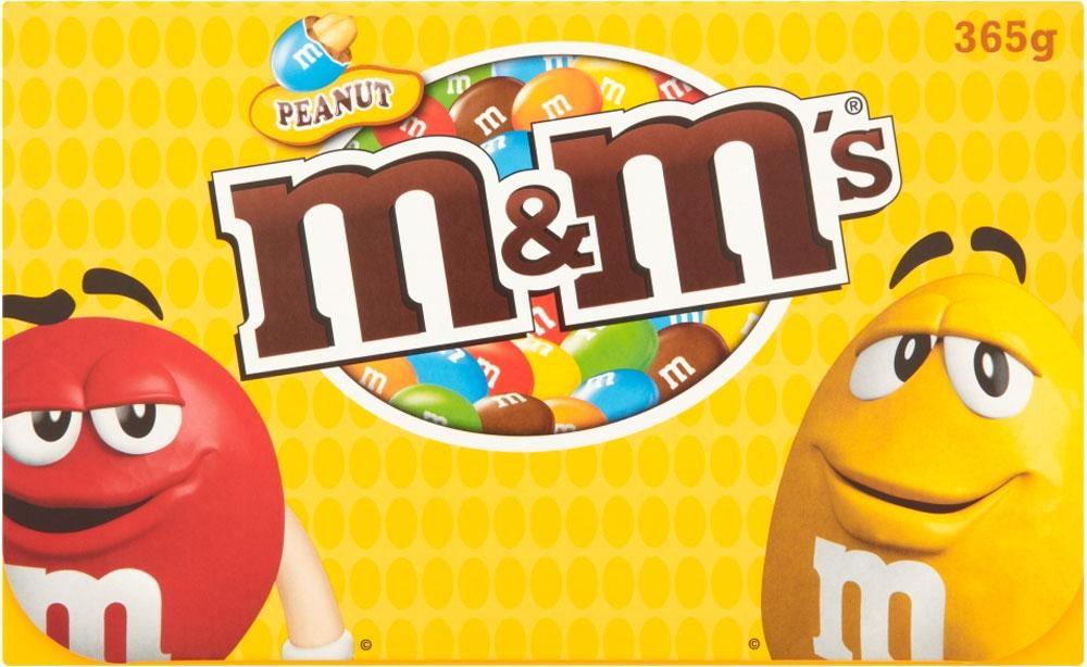 M and Ms Peanut Giftbox 365g