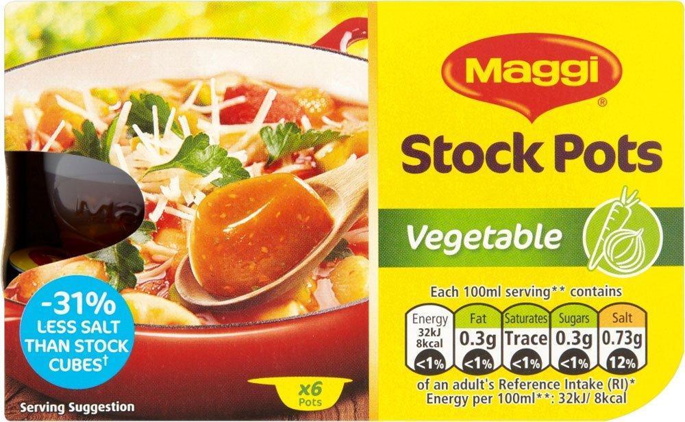 Maggi Stock Pot Vegetable pack of 6