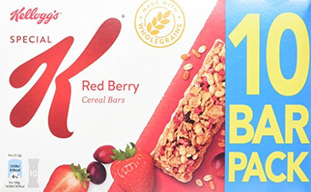 Special K Red Berries 10 Cereal Bars 215g
