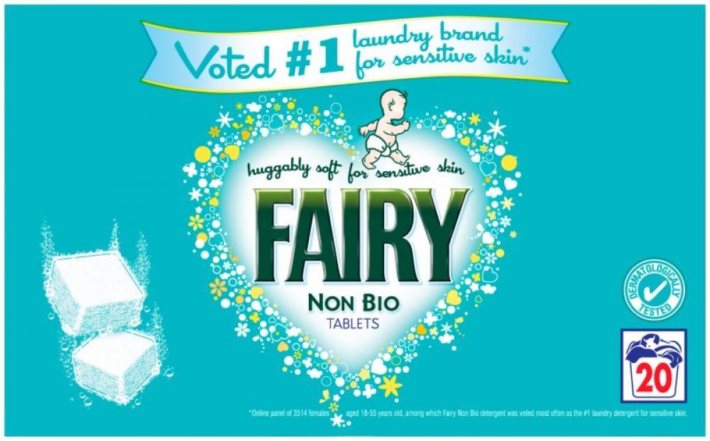 Fairy Non Bio Tablets 20 washes