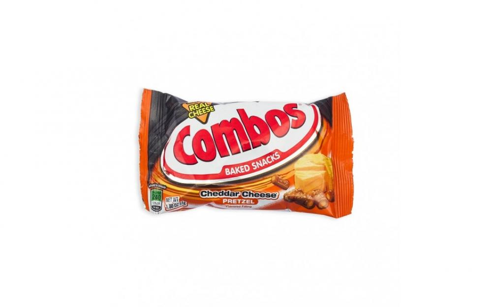 Combos Combos Cheddar Cheese Pretzel Snacks 51g 51g 51g