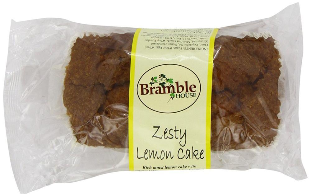 Bramble Foods Bakery Zesty Lemon Loaf Cake 370g