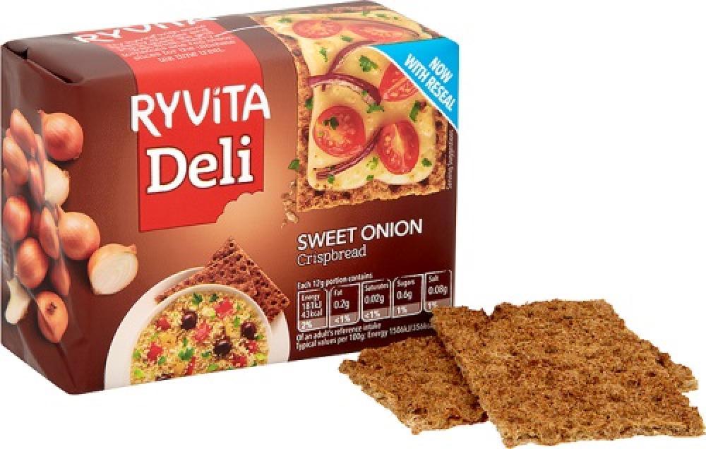 Ryvita Sweet Onion Crispbread 200g