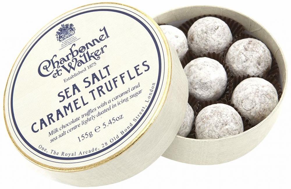 Charbonnel Et Walker Milk Sea Salt Caramel Truffles 120g