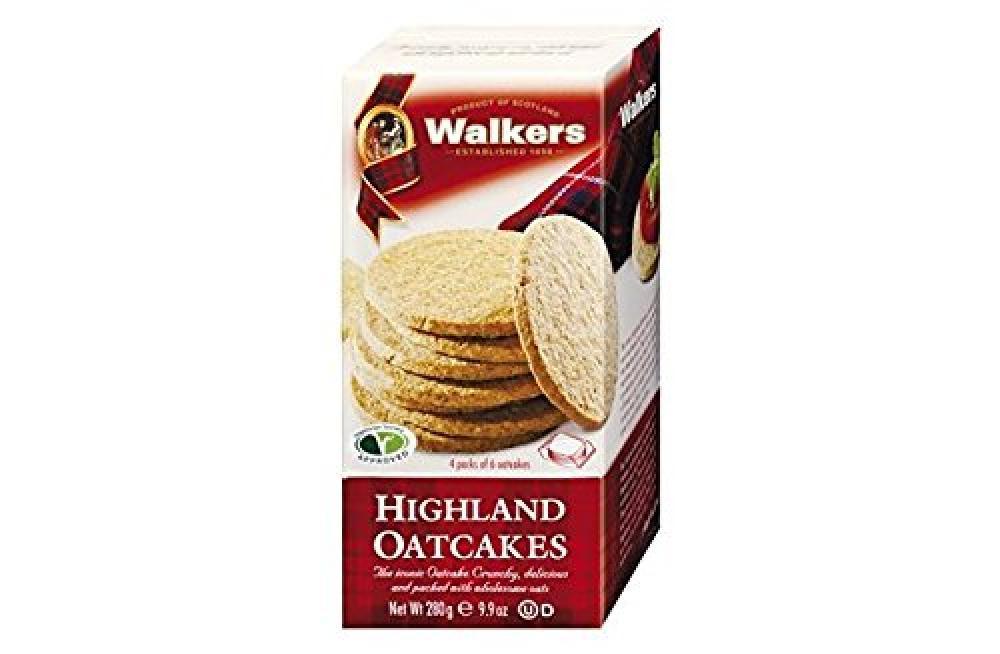 Walkers Shortbread Highland Oatcakes 280g