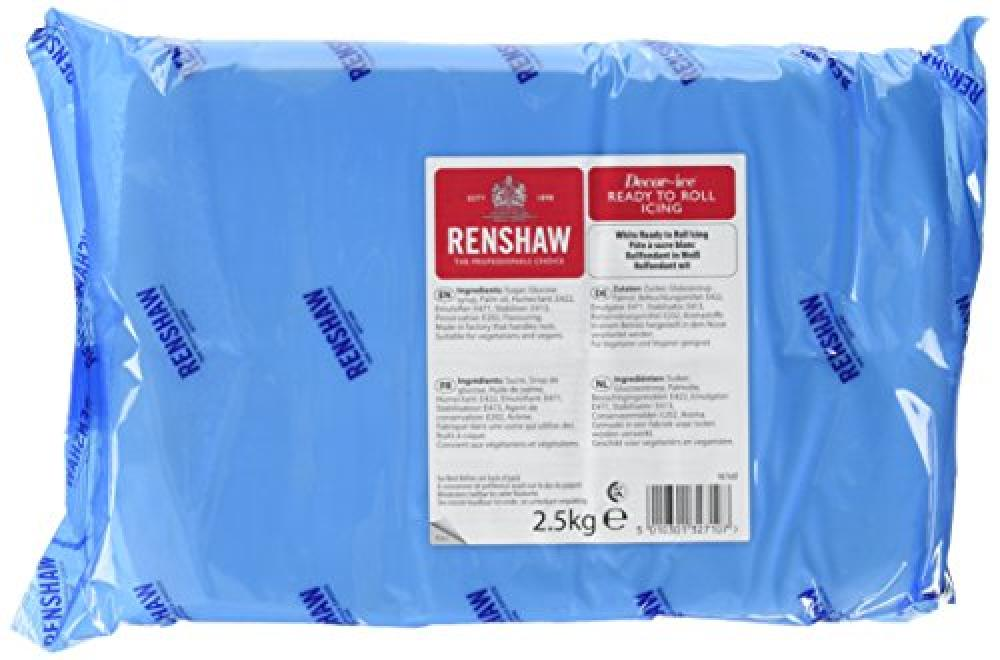 Renshaw Ready To Roll White Icing 2500g