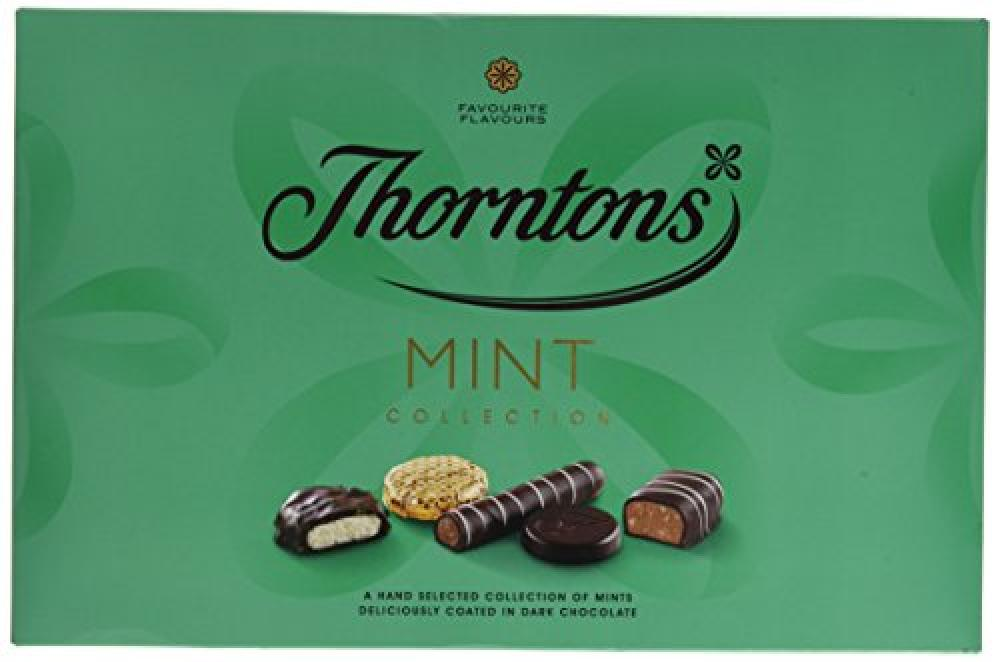 LAST CHANCE  Thorntons Classic Mint Collection Chocolate 282 g