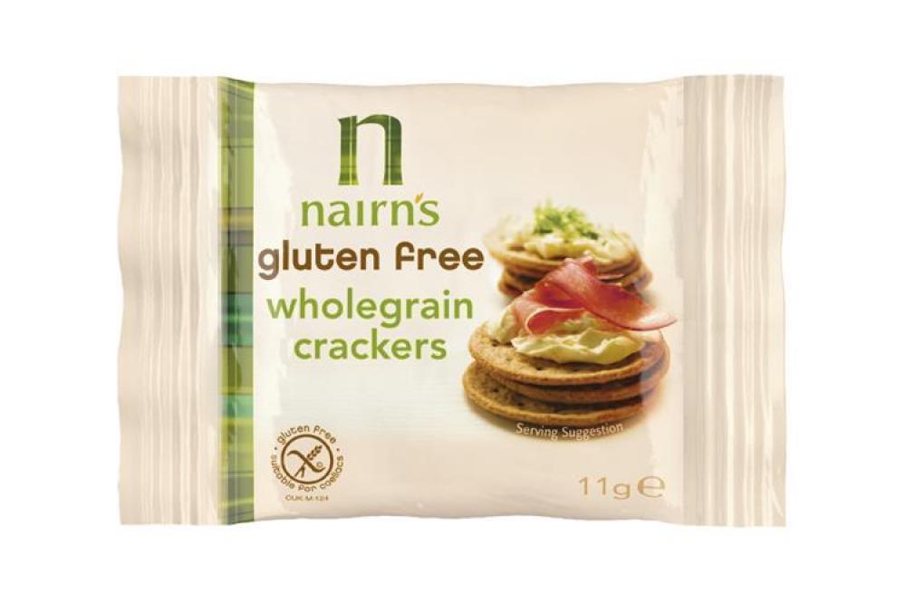 Nairns Gluten Free Wholegrain Crackers 11g