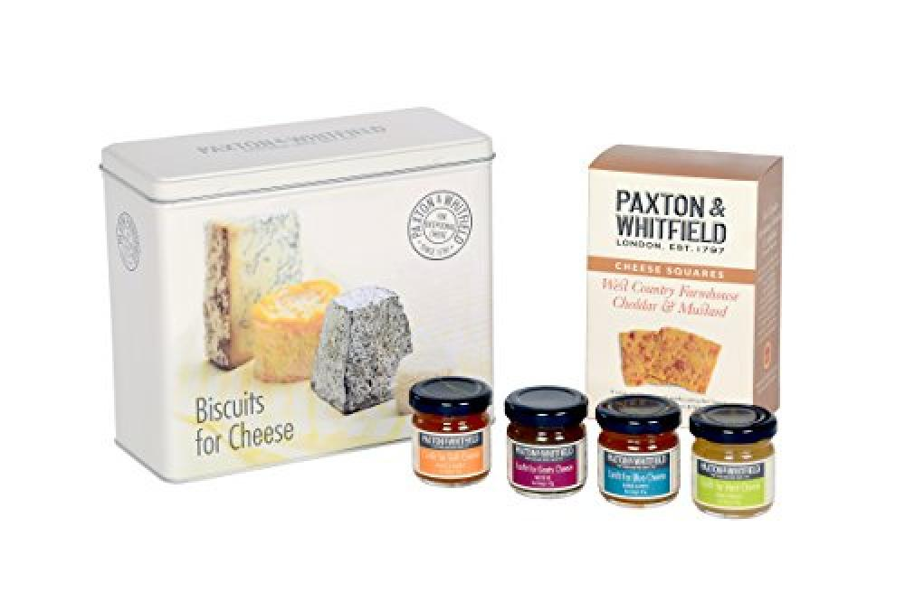 Paxton Whitfield Biscuit & Confit Selection Tin