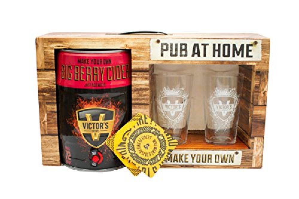 Victors Drinks Pub At Home Big Berry Cider