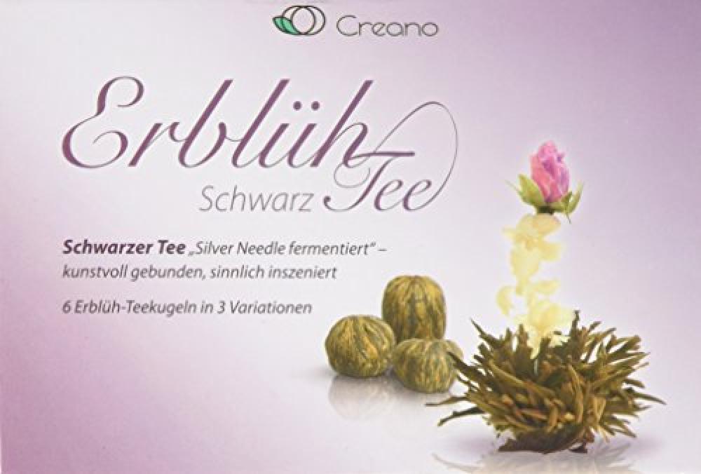 AbloomTea Creano AbloomTea Teaflower Mix - Black Tea 6 Tearoses in 3 different varieties