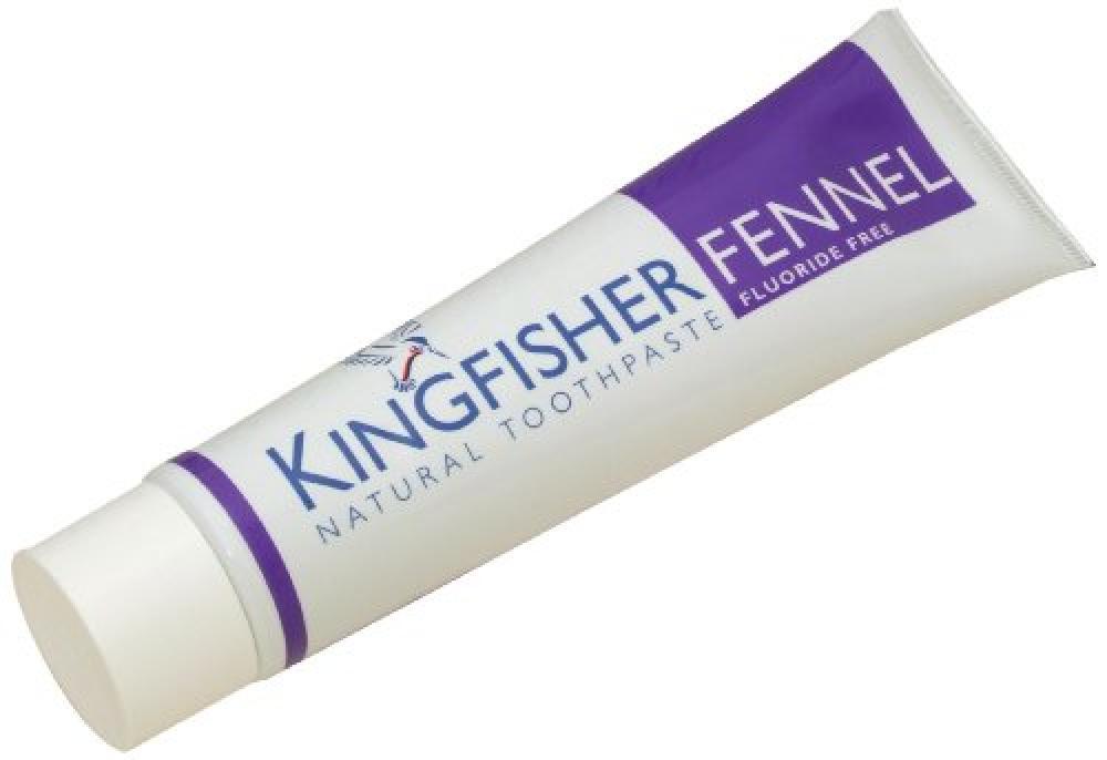 Kingfisher Fluoride Free Fennel Toothpaste 100 ml