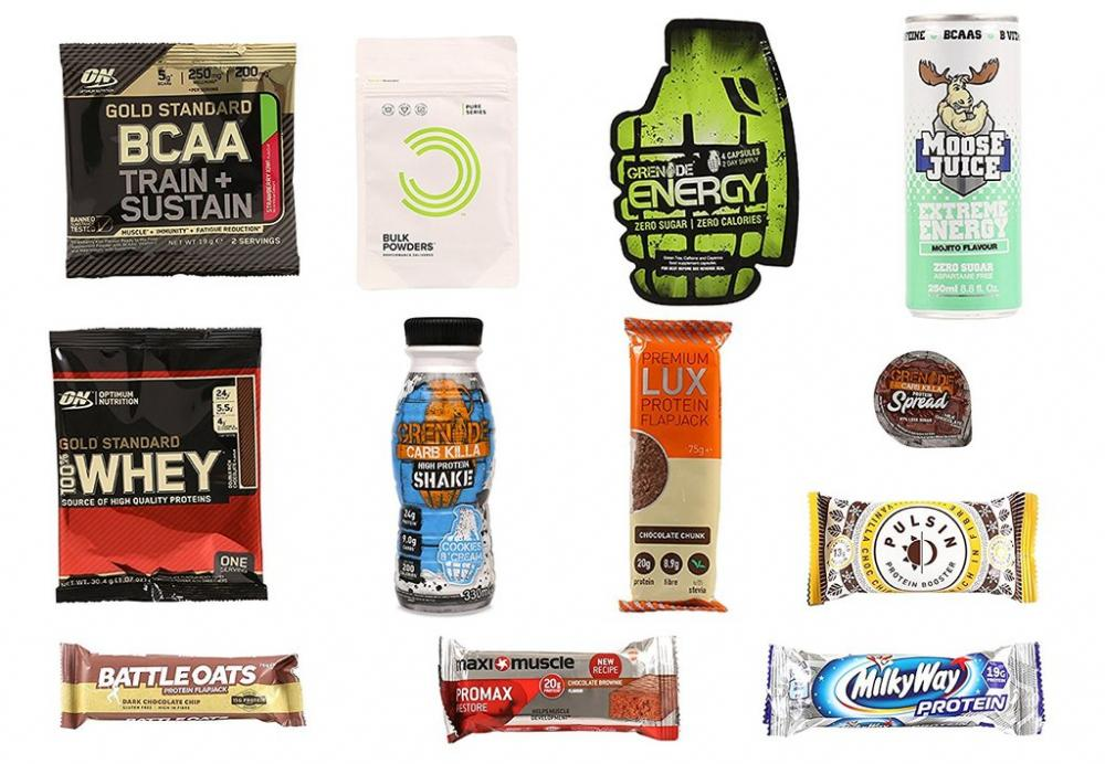 TODAY ONLY  Sports Nutrition Variety Box