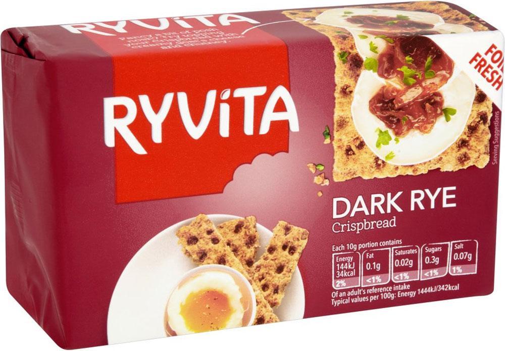 Ryvita Dark Rye Crispbread 250g