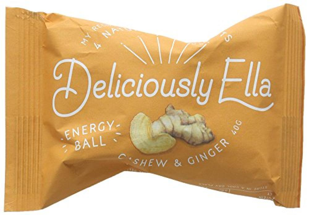 Deliciously Ella Cashew and Ginger Energy Ball 40 g