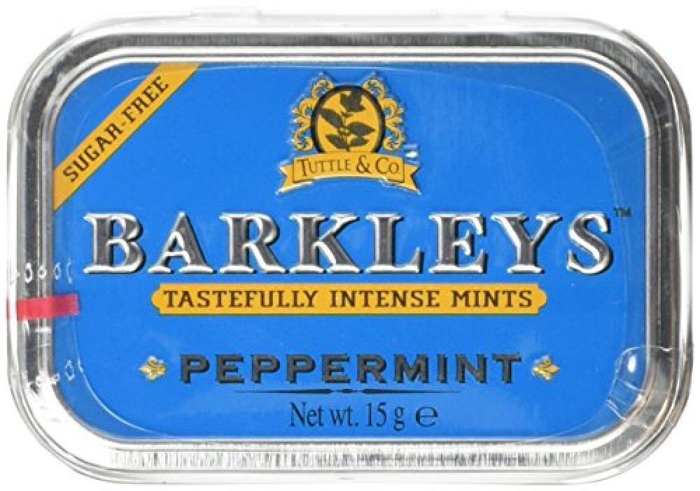 Barkleys Mints Sugar Free Peppermint in Classic Mini Tin 15 g