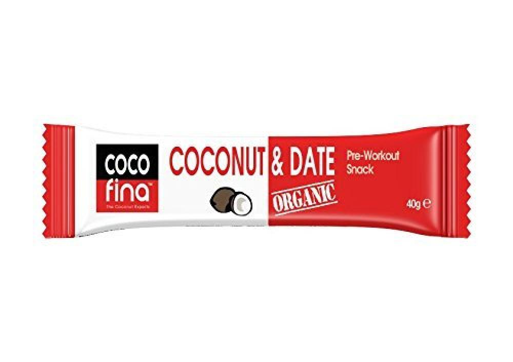 Cocofina Organic Date and Coconut Bar 40g