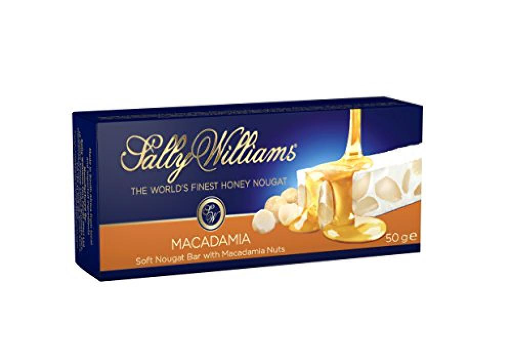 Sally Williams Macadamia Nougat Bar 50 g